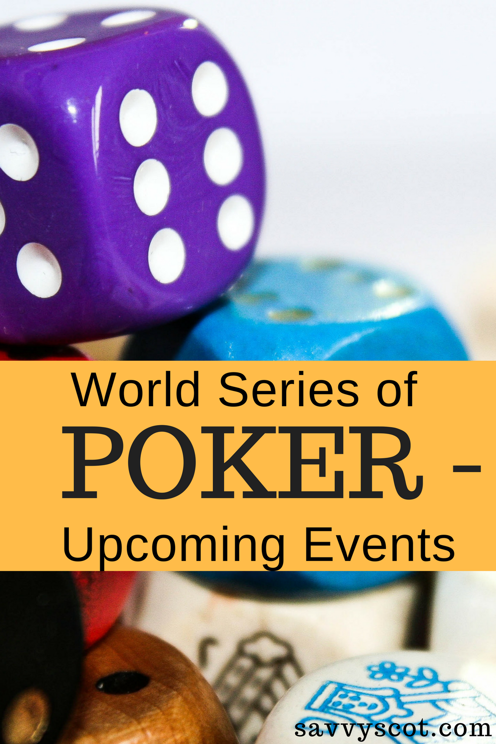 Upcoming Poker Tournaments