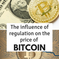 The influence of regulation on the price of bitcoin