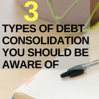 Reducing Pressure: 3 Types of Debt Consolidation You Should Be Aware Of